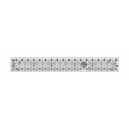"2-1/2"" x 18-1/2"" Rectangle Ruler, Creative Grids"