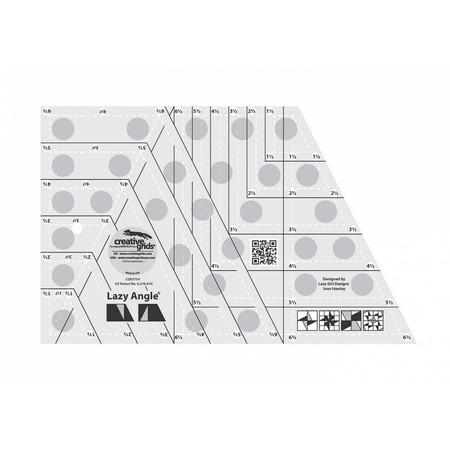 "Lazy Angle Ruler 6-1/2"" x 10-1/2"", Creative Grids"