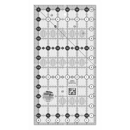 "Quilting Ruler 6-1/2"" x 12-1/2"", Creative Grids"