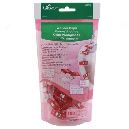 Wonder Clips, Red (100 pk)