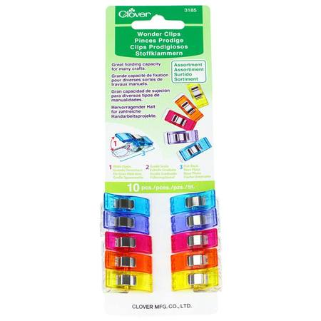Wonder Clips Assorted Colors (10 pk)