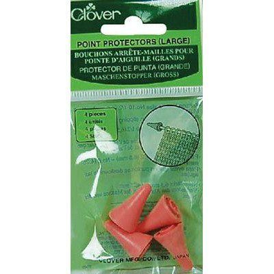 Knitting Point Protectors, Large, Clover