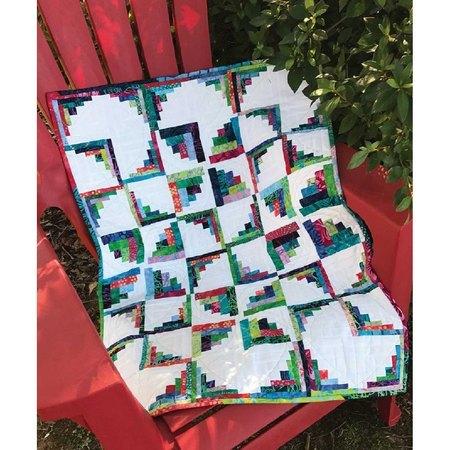Little Runaway Pinwheels Pattern, Cut Loose Press