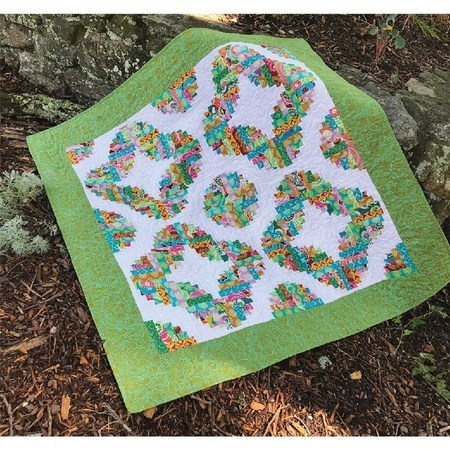 Circles of Love Quilt Pattern, Cut Loose Press