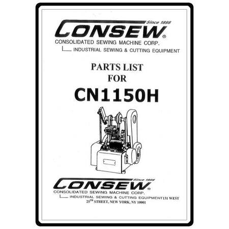 Instruction Manual, Consew 277RFS