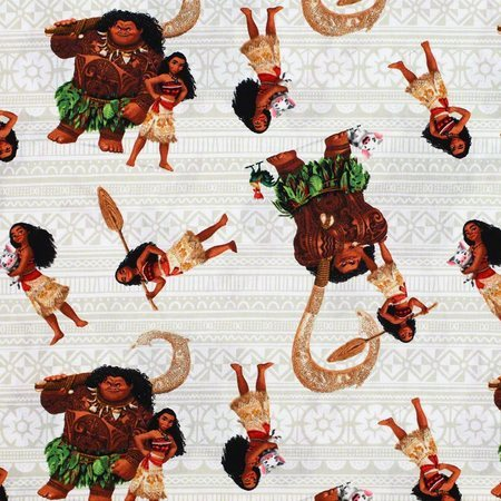 Disney, Moana and Friends Fabric