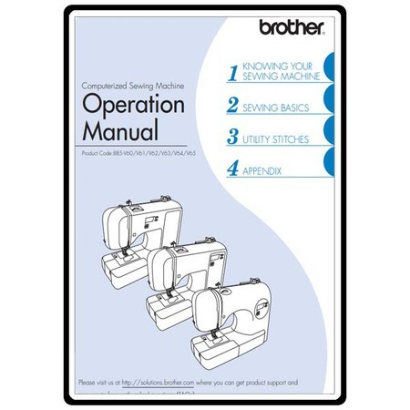 Instruction Manual, Brother CS-5055PRW
