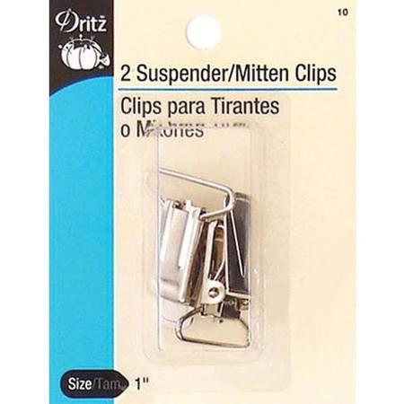 "1"" Suspender-Mitten Clips (2-pk), Dritz"