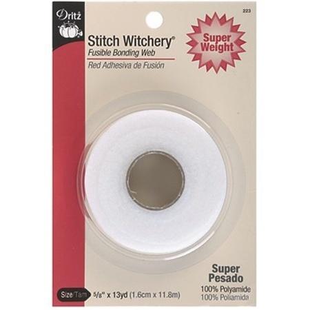 "Stitch Witchery Tape (5/8"" x 13yds), Super Weight, Dritz"