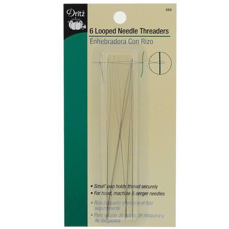 Looped Needle Threaders (6pk)