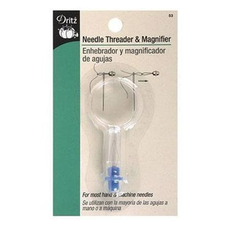 Needle Threader and Magnifier, Dritz
