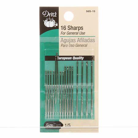 Sharps Needle Set (16pk), Dritz