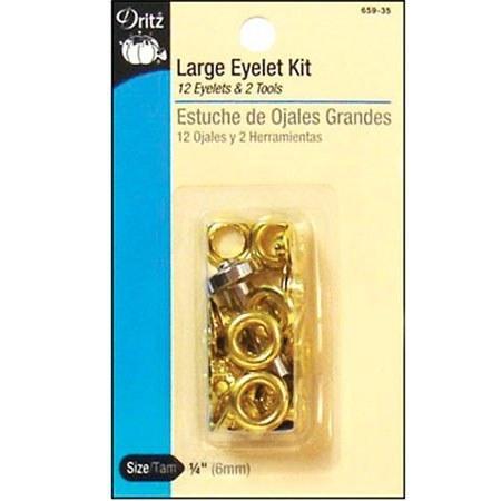 "Large Eyelet Kit 1/4"" #D659-35"