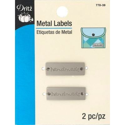 Metal Labels, Matte Nickel