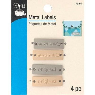 Metal Labels, Mixed Pack
