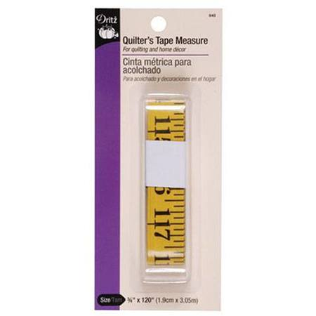 Quilters Tape Measure (120in), Dritz #D840