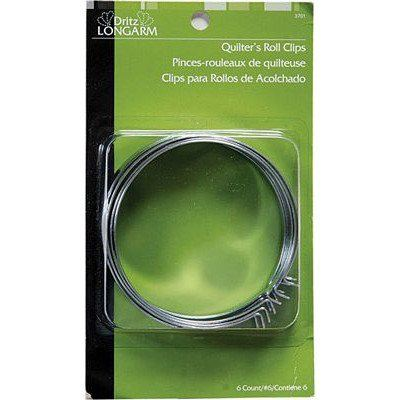Quilter's Roll Clips 6ct, Dritz