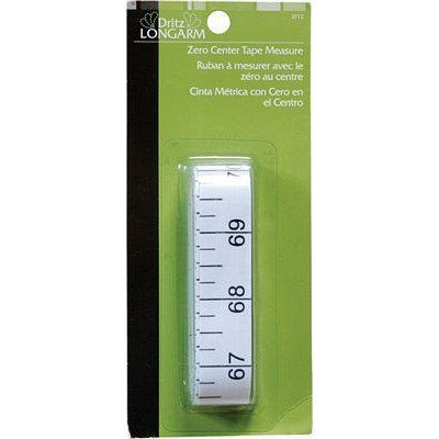 Zero Center Tape Measure, Dritz
