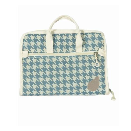 Zippered Notions Bag, BlueFig