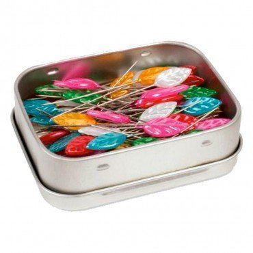 Lovely Leaflets Straight Pins (100CT)