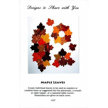 Maple Leaves Pattern, Designs to Share with You