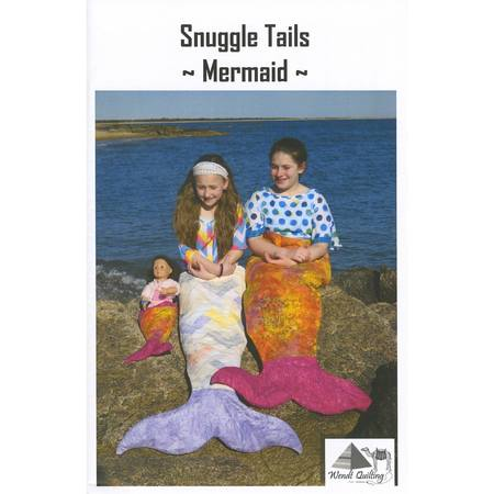 Snuggle Tails Pattern, Mermaid, Wendt Quilting