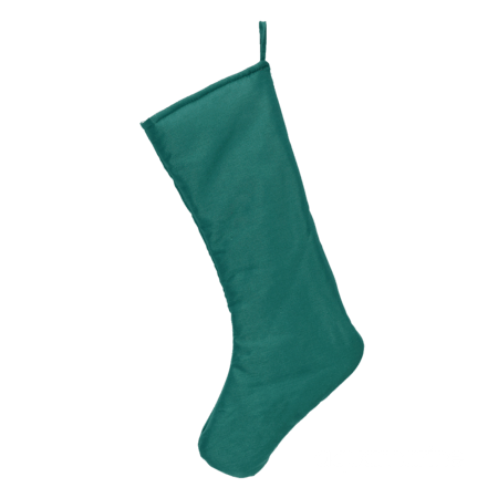 Embroider Buddy Chic Christmas Stocking, Aquamarine