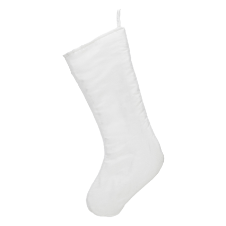 Embroider Buddy Chic Christmas Stocking, Winter White