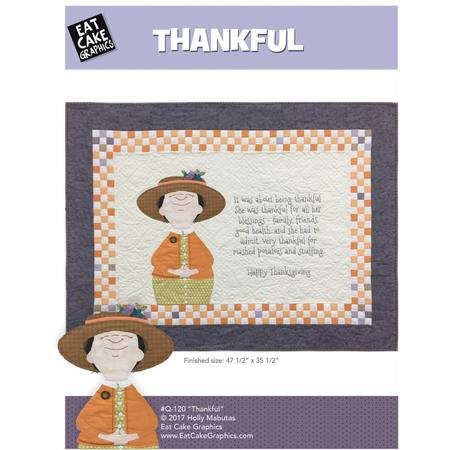 Thankful Quilt Pattern, Holly Mabutas