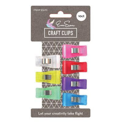 10pk Fabric Clips, EverSewn