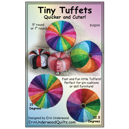 Tiny Tuffets Pattern, Quicker and Cuter