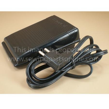 Foot Control w/ Cord (110/120V), Singer #FCD-197628