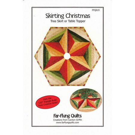 Skirting Christmas Pattern, Far-Flung Quilts