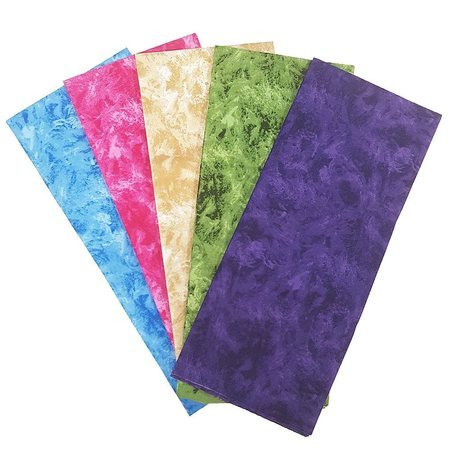 Illusions Fat Quarter Fabric Bundle (5pk), Earth Tones