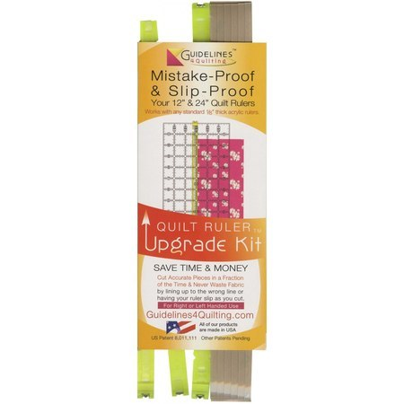 Quilt Ruler Upgrade Kit, Guidelines 4 Quilting