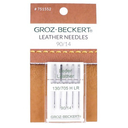 Leather Needles, Groz-Beckert, 130/705H (5pk) 90/14
