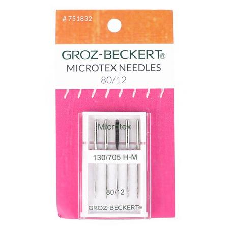 Microtex Needles, Groz-Beckert, 130/705H (5pk)