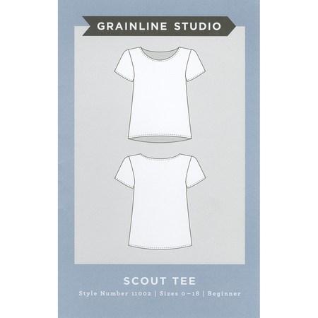 Scout Tee Pattern, Grainline Studio