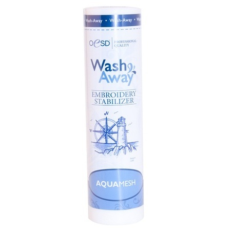 "Aquamesh, Wash-Away Stabilizer, Lightweight 10""x10yds"