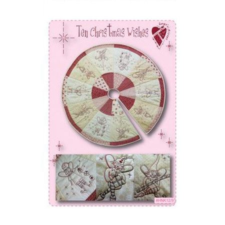 Ten Christmas Wishes Pattern, Hugs N Kisses