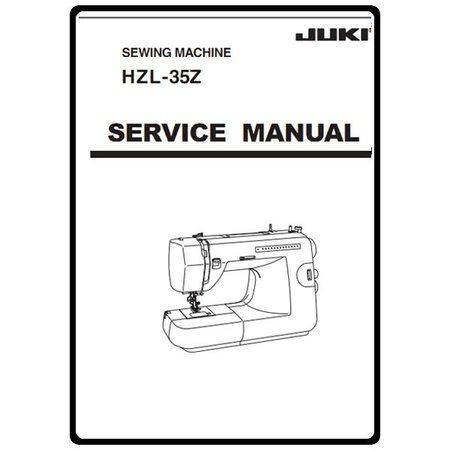 service manual juki hzl 35z sewing parts online rh sewingpartsonline com juki 1790 service manual juki service manual download