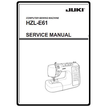 Service Manual, Juki HZL-E61