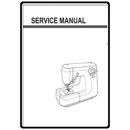 Service Manual, Juki HZL-T100