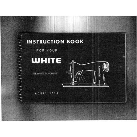 Instruction Manual, White 1514