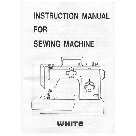 Instruction Manual White 40 Sewing Parts Online Gorgeous Sewing Machine Manuals Online