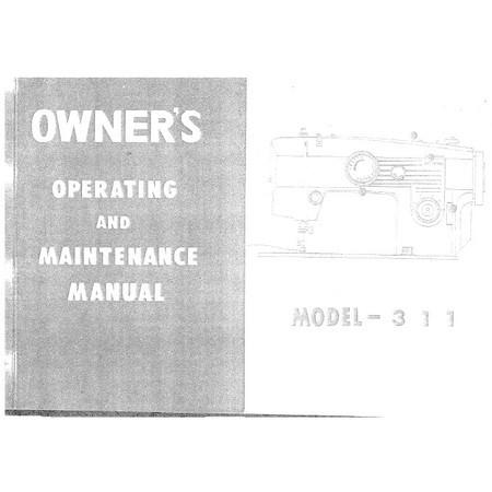 Instruction Manual, White 311