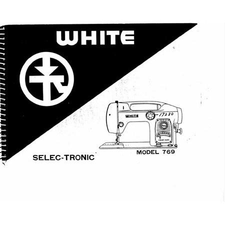 Instruction Manual, White 769