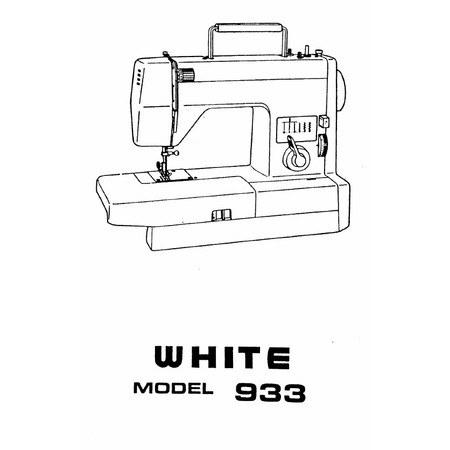 Instruction Manual, White 933