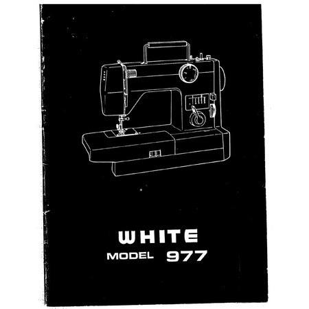 Instruction Manual, White 977