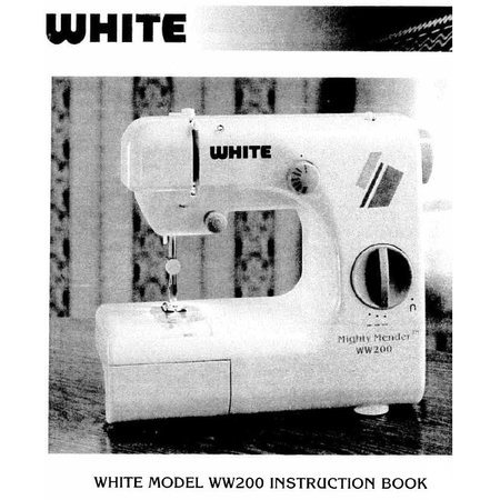 Instruction Manual, White WW200